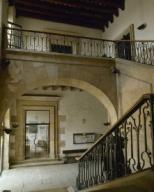 ARTE S. XVIII. ESPAÑA. PALAU DEL GOVERNADOR. Edificio que pertenece a la antigua fortaleza de La Ciutadella (1716-1719), proyecto del militar Próspero de Verboom, la cual fue destruida en la Revolución de Septiembre de 1869. Actualmente es un instituto de enseñanza. BARCELONA. Cataluña.Spain, Catalonia, Barcelona. Citadel, 18th century. The Governor