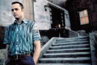 VINCE VAUGHN en PSICOSIS (1998) -Título original: PSYCHO-, dirigida por GUS VAN SANT. Título inglés: PSYCHO.VINCE VAUGHN in PSICOSIS (1998) -Original title: PSYCHO-, directed by GUS VAN SANT. English title: PSYCHO.. UNIVERSAL PICTURES / TENNER, SUZANNE / Album. . , VINCE VAUGHN, ;