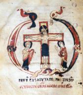 Misal, Siglo XII. Museo Episcopal de Vic.Misal, Siglo XII. Museo Episcopal de Vic.. Album / Ramon Manent. .