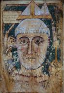 Regla de San Agustín Tonsura. Museu Episcopal de Vic.Regla de San Agustín Tonsura. Museu Episcopal de Vic.. Album / Ramon Manent. .