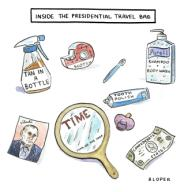 Inside the Presidential Travel Bag