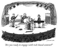 """Are you ready to engage with rock-based content?"""