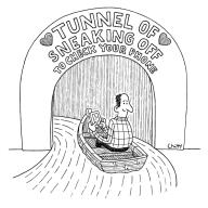 Tunnel Of Sneaking Off To Check Your Phone