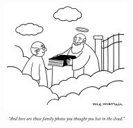 """And here are those family photos you thought you lost in the cloud."""