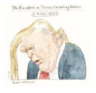 The President, as Viscous, Cascading Geliatin