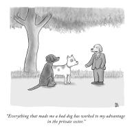 """Everything that made me a bad dog has worked to my advantage in the private sector"