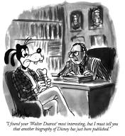"""""""I found your 'Walter Dearest' most interesting, but I must tell you that another biography of Disney has just been published"""