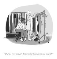 """""""Did we ever actually know what business casual meant"""