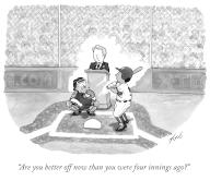 """""""Are you better off now than you were four innings ago"""