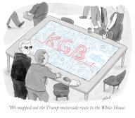 """""""We mapped out the Trump motorcade route to the White House"""