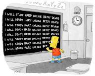 """I will study hard unlike Betsy DeVos"