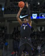 Saturday Jan 18 - DePaul Blue Demons forward Paul Reed (4) shoots a jump shot during the NCAA game between the Butler Bulldogs and the DePaul University Blue Demons at Wintrust Arena in Chicago IL. Gary E. Duncan Sr/