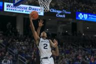 Saturday Jan 18 - Butler Bulldogs guard Aaron Thompson (2) puts up a shot during the NCAA game between the Butler Bulldogs and the DePaul University Blue Demons at Wintrust Arena in Chicago IL. Gary E. Duncan Sr/