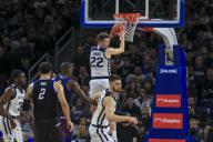 Saturday Jan 18 - Butler Bulldogs forward Sean McDermott (22) grabs a rebound during the NCAA game between the Butler Bulldogs and the DePaul University Blue Demons at Wintrust Arena in Chicago IL. Gary E. Duncan Sr/