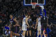 Saturday Jan 18 - DePaul Blue Demons forward Jaylen Butz (2) reacts after a dunk during the NCAA game between the Butler Bulldogs and the DePaul University Blue Demons at Wintrust Arena in Chicago IL. Gary E. Duncan Sr/