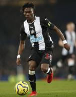 January 21, 2020, Liverpool, United Kingdom: Christian Atsu of Newcastle United during the Premier League match against Everton at Goodison Park, Liverpool. Picture date: 21st January 2020. Picture credit should read: Darren Staples/