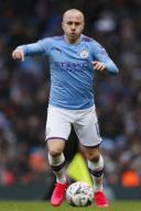 January 26, 2020, Manchester, United Kingdom: Angelino of Manchester City during the FA Cup match at the Etihad Stadium, Manchester. Picture date: 26th January 2020. Picture credit should read: James Wilson/