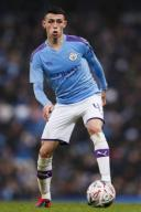 January 26, 2020, Manchester, United Kingdom: Phil Foden of Manchester City during the FA Cup match at the Etihad Stadium, Manchester. Picture date: 26th January 2020. Picture credit should read: James Wilson/