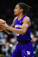 January 25, 2020: Washington Huskies forward Hameir Wright (13) looks for the open man in the menââ¬â¢s basketball game between Colorado and Washington at the Coors Events Center in Boulder, CO. Colorado won 76-62. Derek Regensburger/CSM.