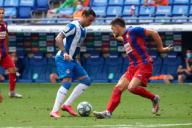 Raul de Tomas of RCD Espanyol during the Liga match between RCD Espanyol and SD Eibar at RCD Stadium on July 12, 2020 in Barcelona, Spain. (Photo by DAX\/ESPA-Images