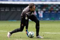 BARCELONA, SPAIN - JULY 12:.Diego Lopez of RCD Espanyol during the Liga match between RCD Espanyol and SD Eibar at RCD Stadium on July 12, 2020 in Barcelona, Spain. (Photo by DAX\/ESPA-Images