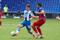 Nicolas Melamed of RCD Espanyol during the Liga match between RCD Espanyol and SD Eibar at RCD Stadium on July 12, 2020 in Barcelona, Spain. (Photo by DAX\/ESPA-Images