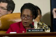 United States Representative Sheila Jackson Lee (Democrat of Texas) speaks during a House Judiciary Committee markup of the articles of impeachment against President Donald Trump, on Capitol Hill Wednesday, Dec. 11, 2019, in Washington. Credit: Jose Luis Magana / Pool via CNP | usage