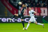 12 December 2019, Hessen, Frankfurt/Main: Soccer: Europa League, Eintracht Frankfurt - Vitoria Guimaraes, Group stage, Group F, 6th matchday, in the Commerzbank Arena. Frankfurt