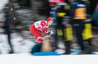 26 January 2020, Bavaria, Oberstdorf: Cross Country World Cup, Men: Sprint 1,6 Km: Gleb Retiwykh from Russia in action. Photo: Silas Stein/