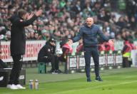 26 January 2020, Bremen: Football: Bundesliga, Werder Bremen - TSG 1899 Hoffenheim , 19th matchday. Hoffenheim