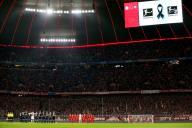 firo: 21.02.2020, football, 1.Bundesliga, season 2019/2020, FC Bayern Munich - SC Paderborn 07, FC Bayern Munich, FCB, Bayern, Munchen, SC Paderborn 07, SCP, Paderborn, whole figure, minute