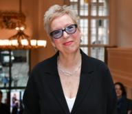 21 February 2020, Berlin: 70th Berlinale, reception FilmFernsehFonds Bayern: Doris Dörrie. The International Film Festival takes place from 20.02. to 01.03.2020. Photo: Jens Kalaene/dpa-Zentralbild/