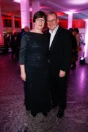 """20 February 2020, Berlin: 70th Berlinale, Opening Party: Joachim Krol and Mrs. Heidrun Teusner Krol at the opening party of the International Film Festival. The Berlinale opens with the film """"My Salinger Year"""". Photo: Gerald Matzka/dpa-Zentralbild/"""