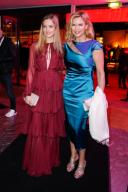 """20 February 2020, Berlin: 70th Berlinale, Opening Party: Lilly Krug and mother Veronica Ferres at the opening party of the International Film Festival. The Berlinale opens with the film """"My Salinger Year"""". Photo: Gerald Matzka/dpa-Zentralbild/"""