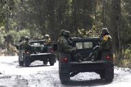 EUM20200121SOC31.JPG ZINACANTEPEC, Méx. Volcano/Volcán-Nevado.- 21 de enero de 2019. Aspectos de la vigilancia por parte del ejército en las inmediaciones del Nevado de Toluca. Foto: Agencia EL UNIVERSAL/