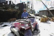 EUM20200121SOC19.JPG ZINACANTEPEC, Méx. Volcano/Volcán-Nevado.- 21 de enero de 2019. Aspectos de la nieve que cubrió de blanco a las comunidades de Raíces y Loma Alta, cercanas al Nevado de Toluca. Foto: Agencia EL UNIVERSAL/