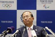 Toshiro Muto, Tokyo 2020 Organizing Committee Chief Executive Officer, attends a news conference after Tokyo 2020 Executive Board Meeting in Tokyo, Japan March 30, 2020. Tokyo, JAPAN 30 March 2020. //DATICHE_001.0436/2003310943/Credit:Issei Kato/Pool/SIPA/