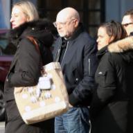 "Chairman of Outdoor Voices and head of Drexler Ventures Millard ""Mickey"" S. Drexler is seen in Soho in New York City Pictured: Micky Drexler Ref: SPL5141965 210120 NON-EXCLUSIVE Picture by: Christopher Peterson / SplashNews.com Splash News ..."