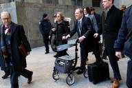 Harvey Weinstein leaving Manhattan Criminal Court on on February 21, 2020 in New York City. Pictured: Harvey Weinstein Ref: SPL5150749 210220 NON-EXCLUSIVE Picture by: Kristin Callahan/ACE Pictures / SplashNews.com Splash News and Pictures ...