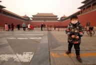 The Forbidden City, as well as other popular tourist destinations, have been closed as the government takes steps to counter the spread of the new, deadly coronavirus in Beijing on Sunday, January 26, 2020. More than 50 people are dead in China, as the Wuhan coronavirus continues to spread throughout Asia and the rest o the world. Nearly 2,000 cases have been confirmed in mainland China. Photo by Stephen Shaver/