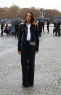 PARIS, FRANCE - SEPTEMBER 29: Celebs attend the Dior Womenswear Spring\/Summer 2021 show as part of Paris Fashion Week on September 29, 2020 in Paris, France. Featuring: Camille Cottin Where: Paris, France When: 29 Sep 2020 Credit: WENN.com **Not available for publication in France, Belgium, Italy