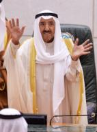 (200929) -- KUWAIT CITY, Sept. 29, 2020 (Xinhua) -- File photo taken on Oct. 29, 2019 shows Kuwaiti Emir Sheikh Sabah Al-Ahmad Al-Jaber Al-Sabah attending the opening ceremony of the fourth ordinary session of the Kuwaiti National Assembly\'s 15th legislative term in Kuwait City, Kuwait. Kuwaiti Emir Sheikh Sabah Al-Ahmad Al-Jaber Al-Sabah passed away on Tuesday, according to Kuwait\'s Amiri Diwan. (Xinhua
